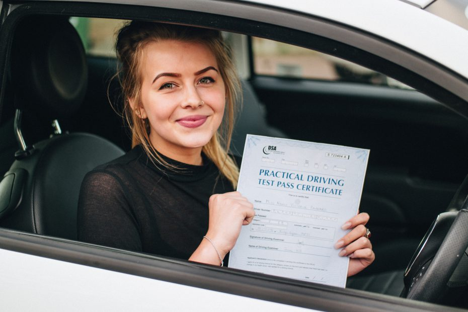 Our guide to passing your driving test
